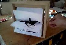 Flipbook box / No Boring White likes flipbook boxes!