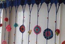 Cortinas tejidas / ideas cortinas tejidas