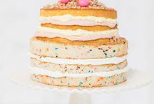 Just cake....