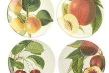 Garden to Tableware / Seasonal produce inspired tableware picks