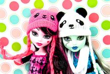 monster high, barbie