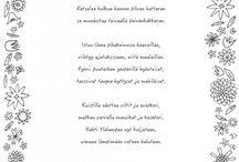 väritys runoja