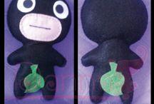 Peluches / Estos peluches están inspirados en el movimiento kawaii y de anime.