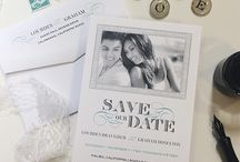 Save-the-Date Inspiration / Get inspiration for your save-the-date cards from www.creationsbysasha.com
