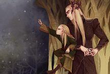 Legolas & Thranduil.