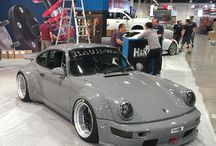 RWB and other Porsches