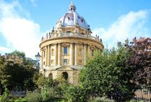 Oxford - the city of dreaming spires / All related to the beautiful city of Oxford, England.