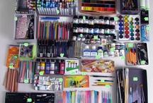 Art supplies & stationaries