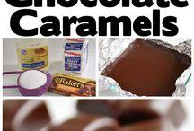Fudge, Caramels, Truffles and more