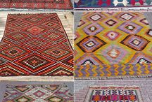 Rugs Everywhere! / Rugs really bring a room together.