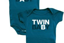 TWIN ONSIES / Matching cute and/or funny onesies/outfits for your twins