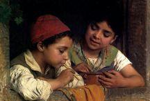 arte - Luigi Bechi (1830-1919) / arte - pittore italiano