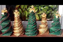 paper tube decorations