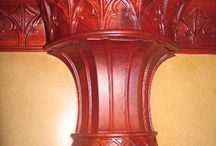 Columns and Posts / Columns and posts can be cut and shaped to meet your specifications for a unique design
