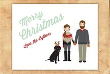 2013 holiday card / it's official: rusty's on the holiday card.