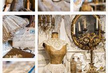 """Heerlyck Goed """"Parijs boudoir"""" / Heerlyck goed is een winkel in Zutphen die gespecialiseerd is in antiek en brocante uit Parijs. Met name de verfijnde vrouwelijke brocante het """"boudoir"""""""