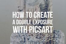 Double Exposure / With PicsArt, you can create layered images using just your phone. Explore these inspiring double exposure images and make your own!   http://blog.picsart.com/post/how-to-create-double-exposure