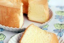 Rice chiffon cake