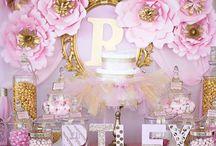 Princess baby showers