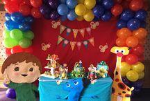 Fiesta Baby tv / Decoramos la fiesta de tus sueños, llámanos al 3163190898 en Bogotá. www.beuladecoraciones.com.co