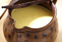 Basiques pâtisseries: crème anglaise, chantilly etc