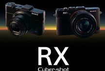 First Look: New RX Line of Sony Cameras / We're adding two new premium compact cameras to the Cyber-shot RX Line: RX100 II model, which adds Exmor R™ CMOS sensor and connectivity, and the RX1R full frame camera with enhanced resolution and detail.