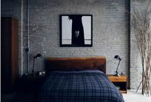 young man bedroom