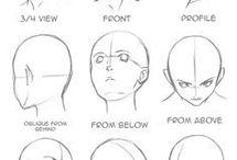 Referências: desenhos / Referências- corpo humano e outros