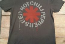 Red Hot Chili Peppers Products / Amplified Red Hot Chili Peppers T shirts for sale