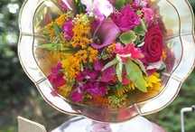 Fabulous Flowers... / Decorating with flowers in a nontraditional way...