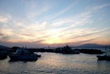 Hydra Sunsets