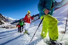 Winter abseits der Pisten im Großarltal / Abseits der Pisten Spaß im Schnee haben: Skitouren, Schneeschuhwanderungen, Schlitten fahren, Winterwandern, Eislaufen, Pferdeschlittenfahrten...
