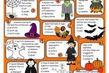 ESL kids Halloween