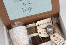 Gift ideas in a box