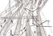 Russia. Rostov-on-Don. Urban sketch. Plein air