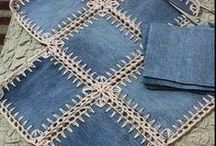 Crochet mixed quilts