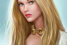 FEMALE • Blond Hair
