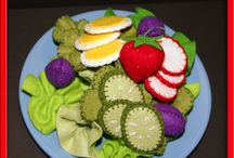 zöldségek, saláták