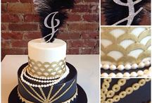 Great Gatsby Cakes