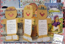 Gingerbread, Winter, Homes / thematic learning for ELL newcomers / by Paige Jenkins Bowder