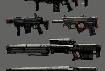 Futuristic Guns