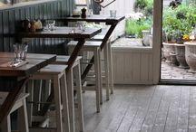 coffee shop / house patios ideas