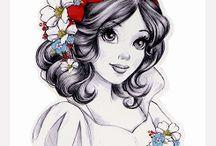 Snow White Love