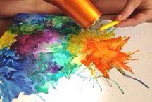 χρωμα-κηρομπογια