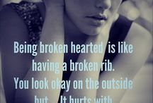 The broken life / They say life isn't easy!! Who is they? And why are they right?