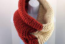 Knitting Scarfs/Shawls/Cowls