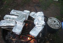 как приготовить овощи, омлет и др в походе
