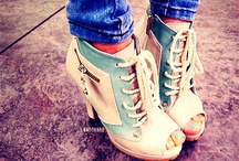 shoes and more shoes / by Shanaya Lunday