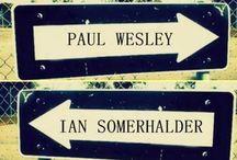 Paul Wesley or Ian Somerhalder