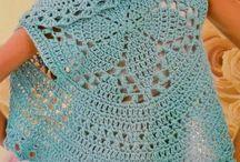 chaleco circular  croche